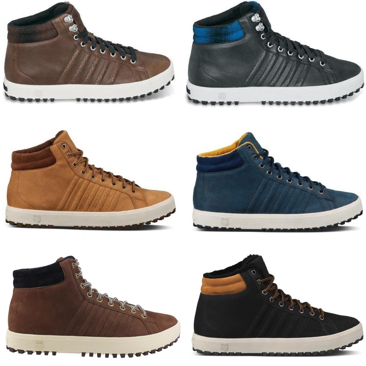 K-Swiss-Adcourt-72-Boot-Schuhe-Winterschuhe-Sneaker-Winter-gefuettert-Herren