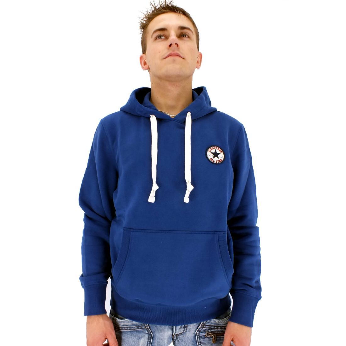 converse core c patch fleece po hoodie herren pullover kapuze diverse farben ebay. Black Bedroom Furniture Sets. Home Design Ideas