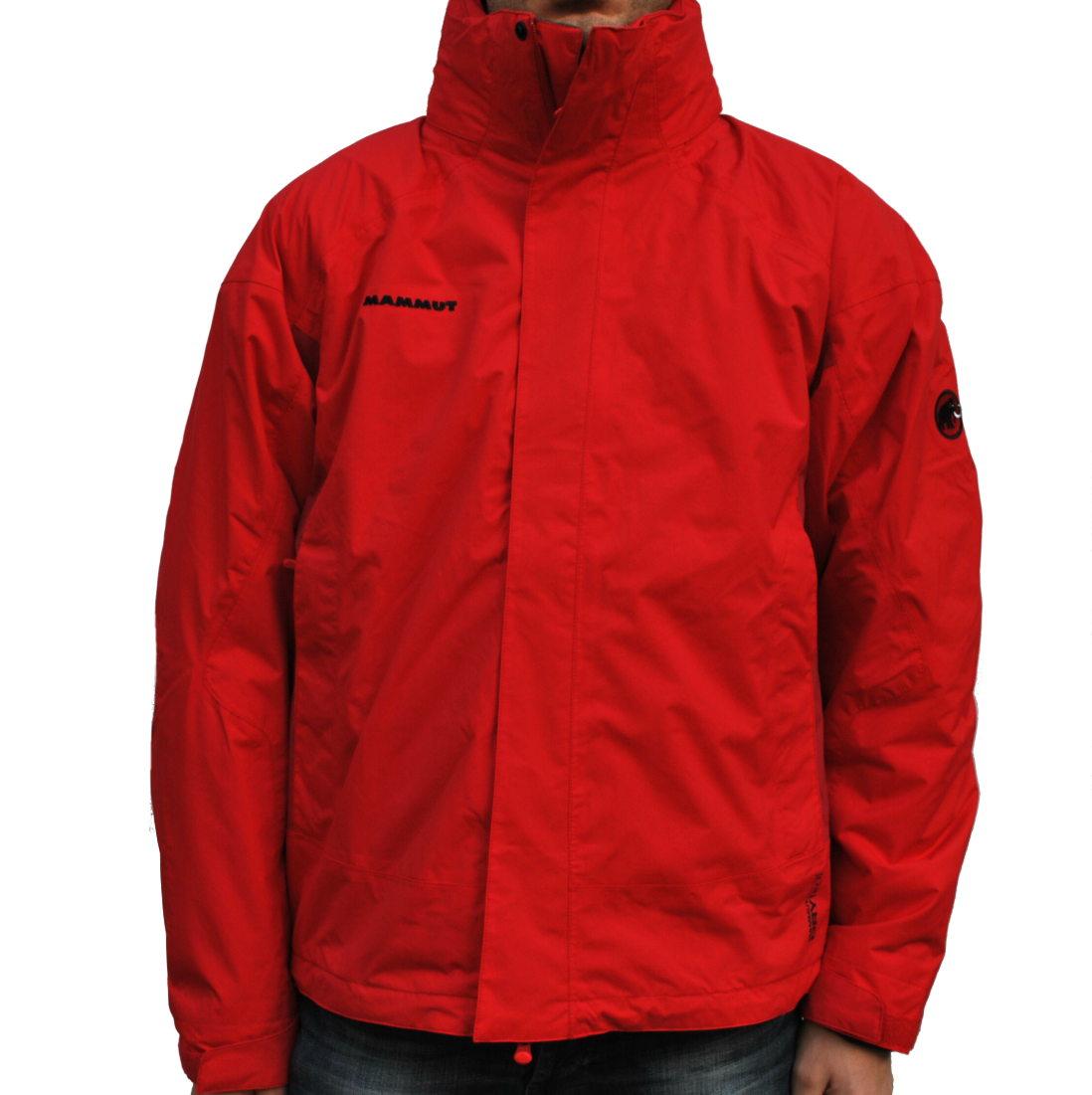 mammut genesis 2 s jacket herren winterjacke jacke outdoor 3 in 1 rot ebay. Black Bedroom Furniture Sets. Home Design Ideas