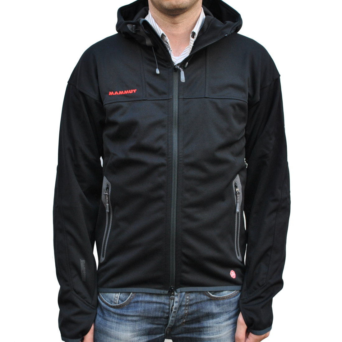 Mammut Ultimate Hoody Soft Shell Black