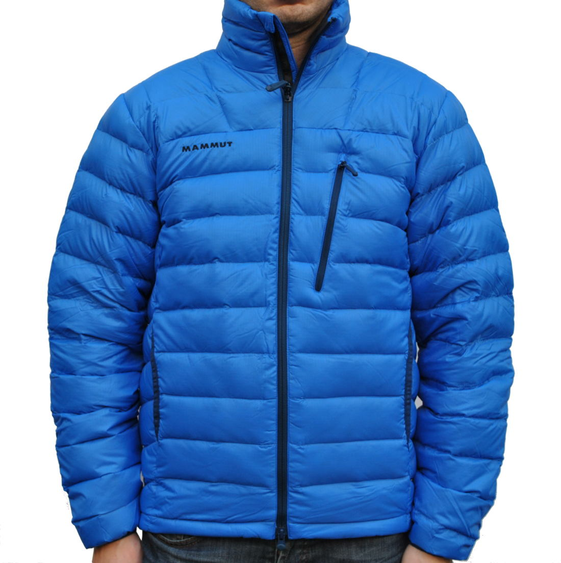 mammut broad peak ii jacke winterjacke daunenjacke herren schwarz gr n blau ebay. Black Bedroom Furniture Sets. Home Design Ideas