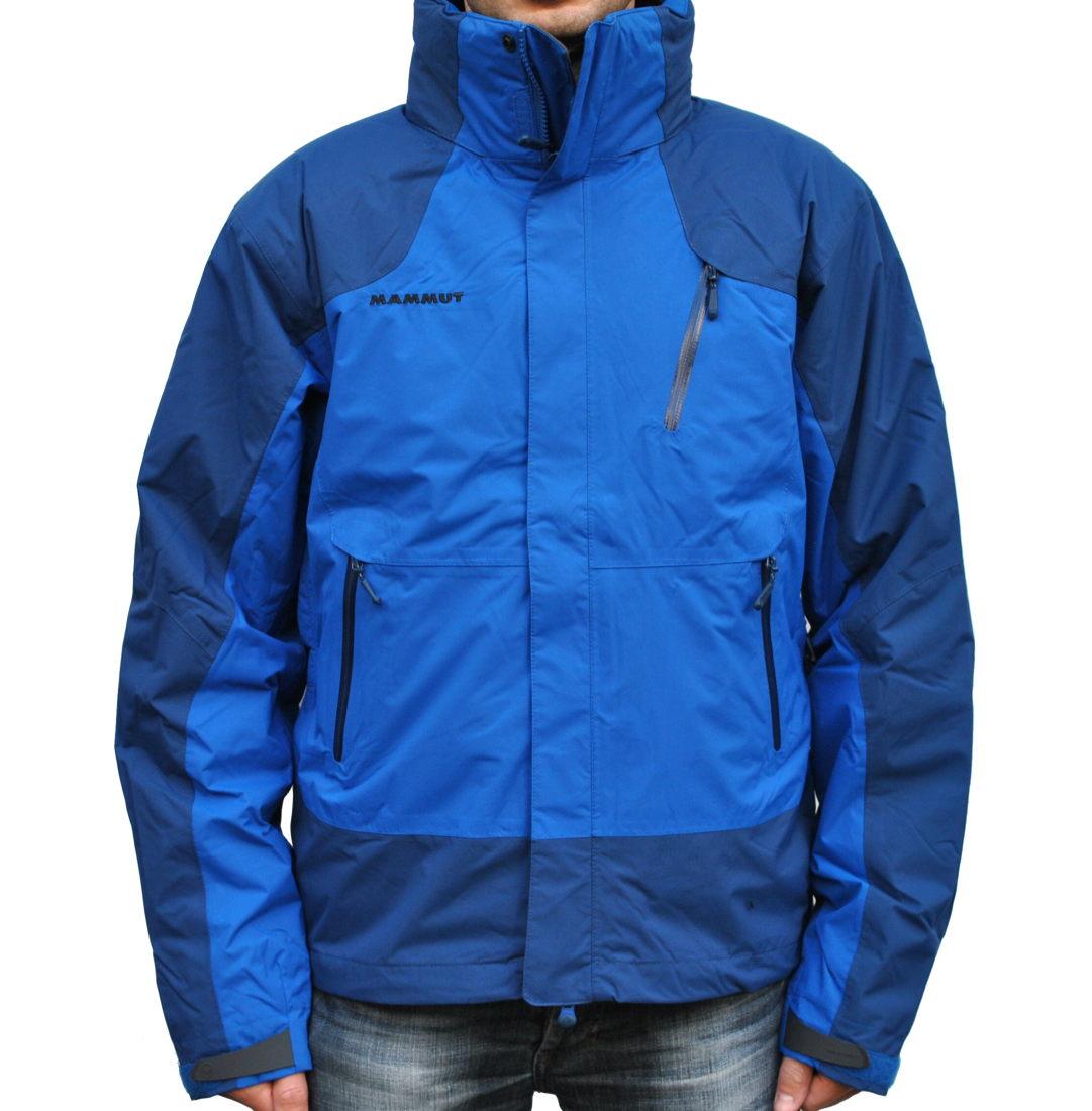 mammut kinabalu 4 s jacket herren jacke blau winterjacke outdoorjacke cruise ebay. Black Bedroom Furniture Sets. Home Design Ideas