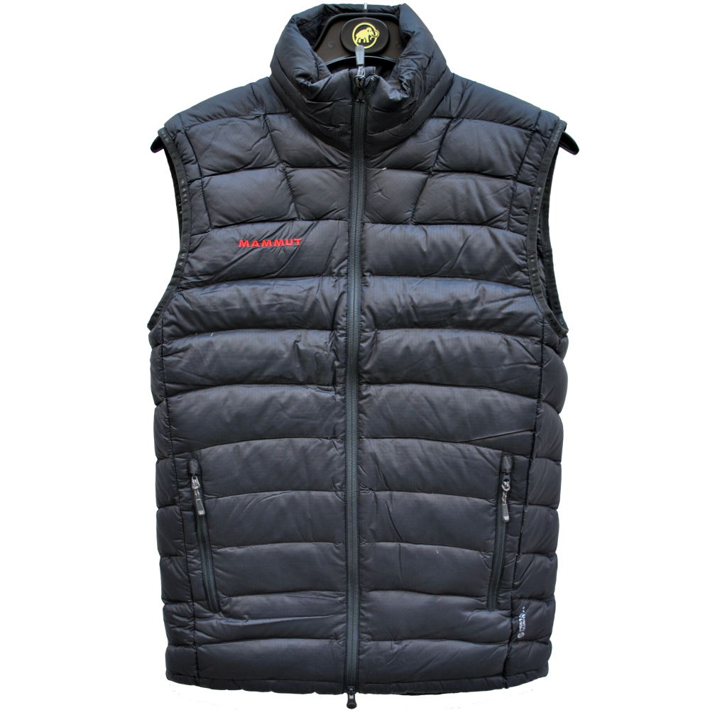 mammut broad peak vest daunenweste herren weste winterweste schwarz ebay. Black Bedroom Furniture Sets. Home Design Ideas