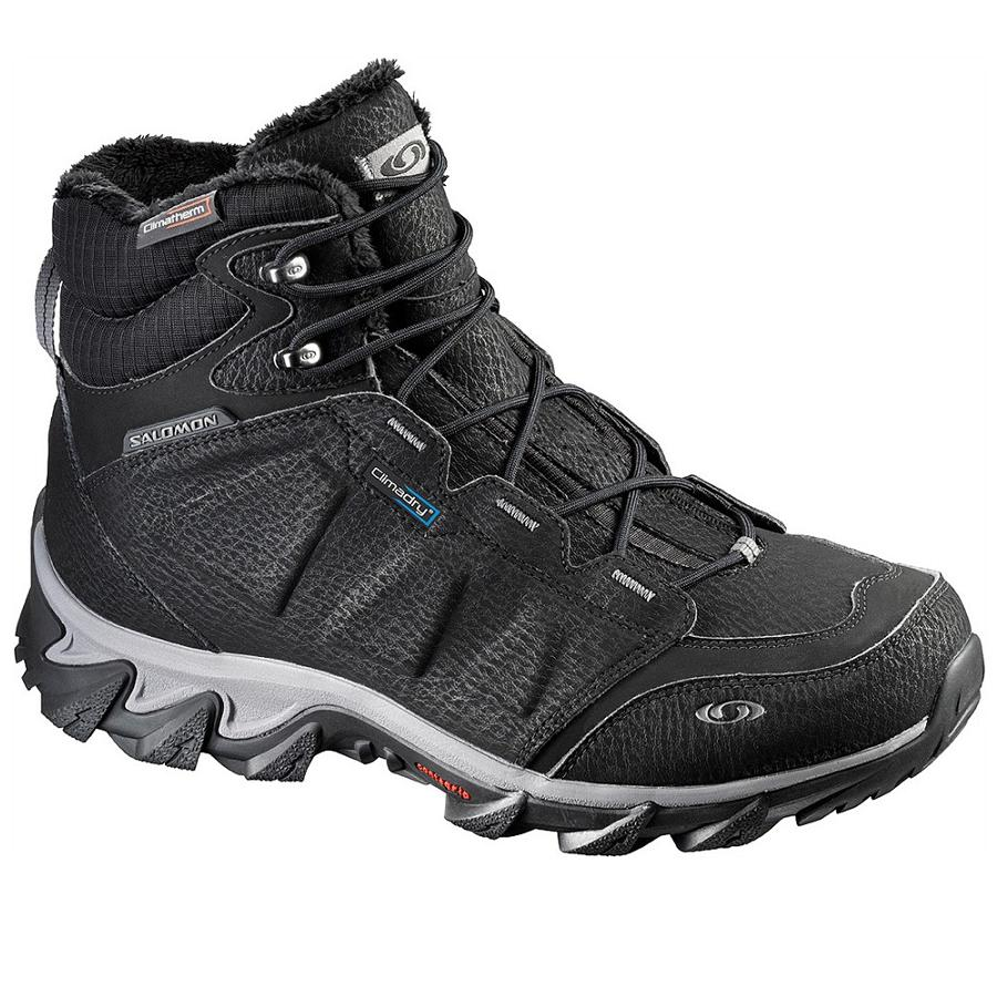 salomon elbrus wp schuhe wanderschuhe winterschuhe herren wasserdicht ebay. Black Bedroom Furniture Sets. Home Design Ideas