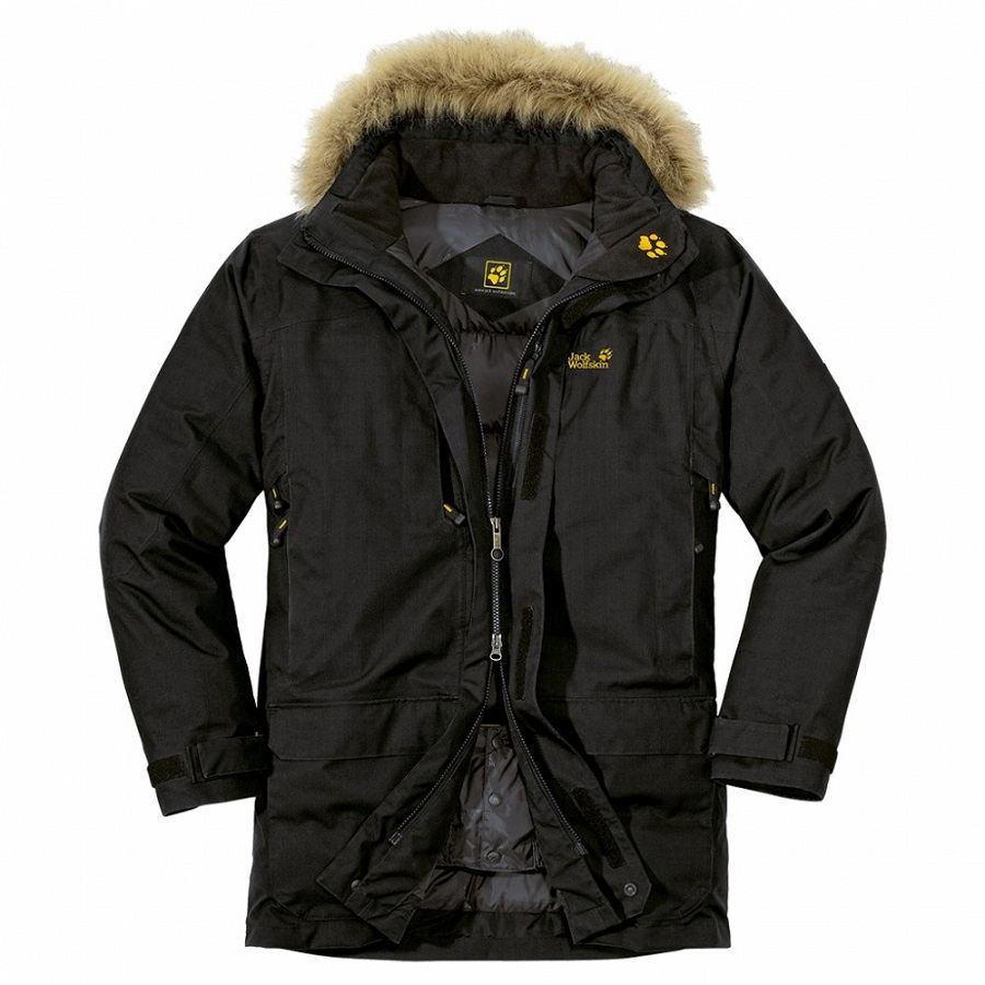 jack wolfskin anchorage parka jacke winterjacke. Black Bedroom Furniture Sets. Home Design Ideas