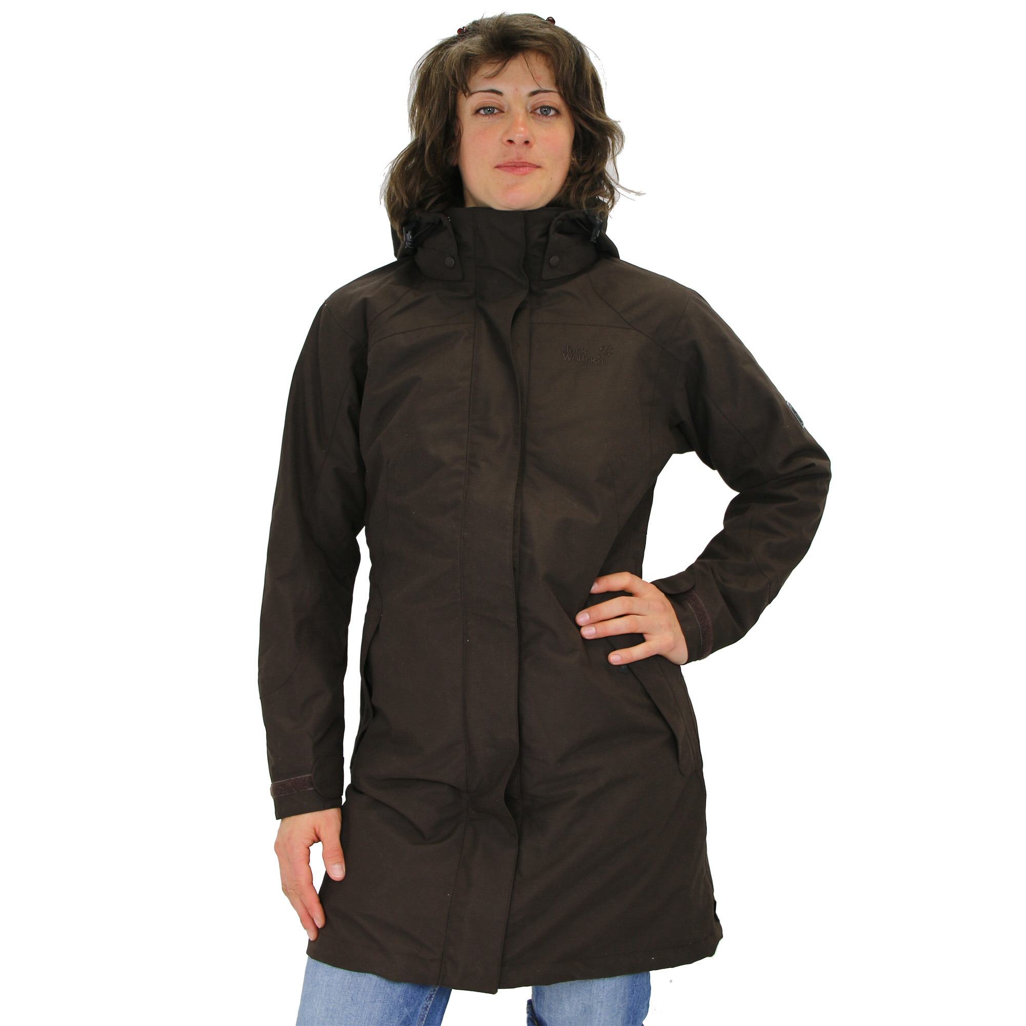 jack wolfskin ottawa parka mantel wintermantel winterjacke jacke winter damen ebay. Black Bedroom Furniture Sets. Home Design Ideas