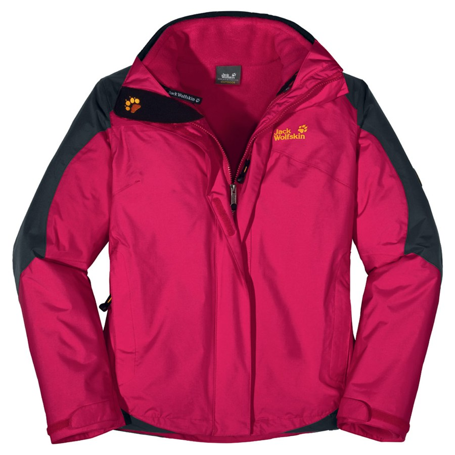 jack wolfskin cool move jacke winterjacke damen rot ebay. Black Bedroom Furniture Sets. Home Design Ideas