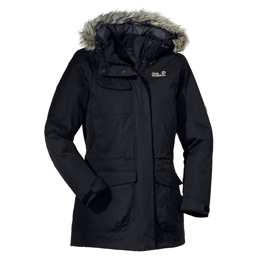 Jack Wolfskin Fairbanks Parka Black