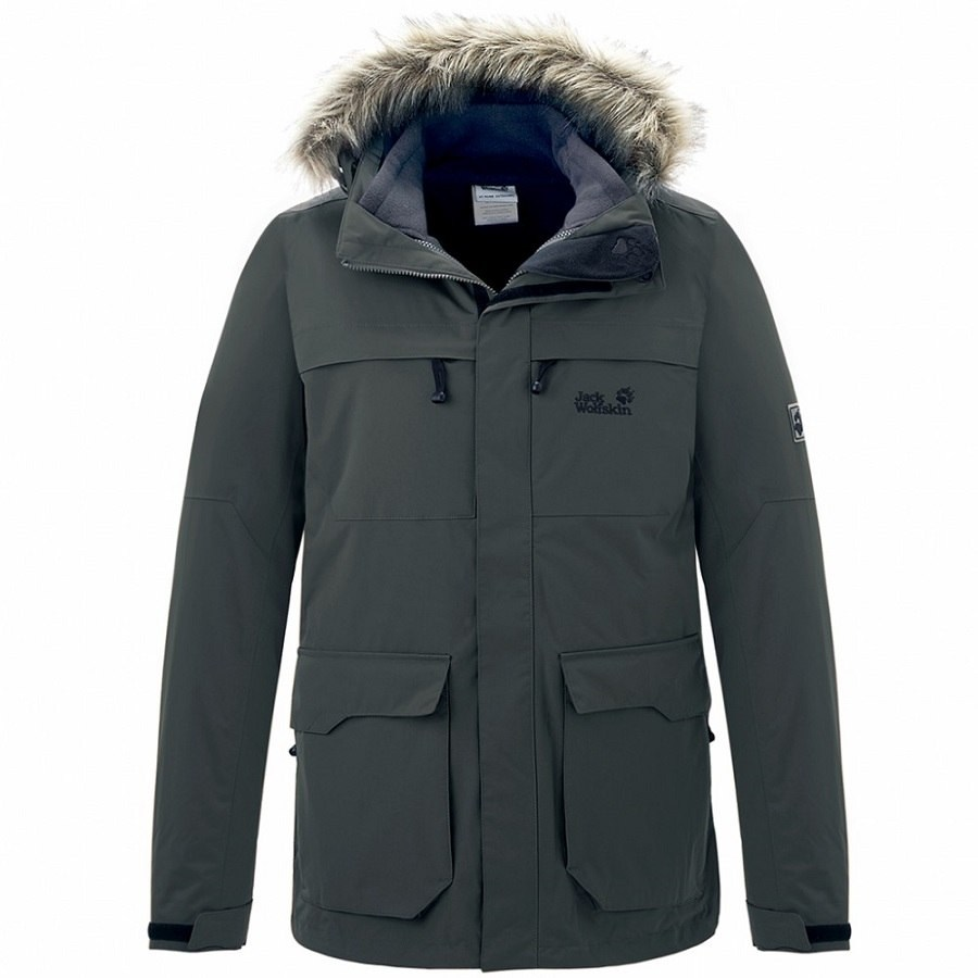jack wolfskin westport winterjacke wintermantel parka jacke mantel winter herren ebay. Black Bedroom Furniture Sets. Home Design Ideas