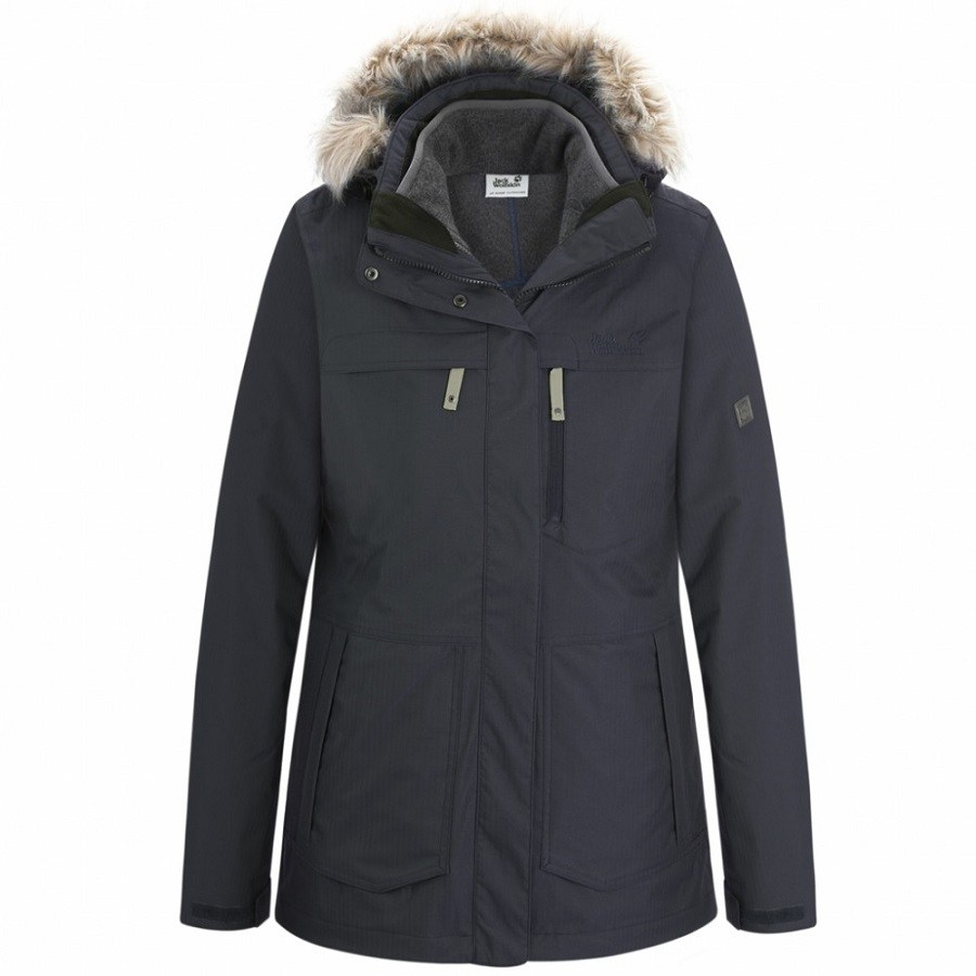 jack wolfskin montreal parka wintermantel winterjacke. Black Bedroom Furniture Sets. Home Design Ideas