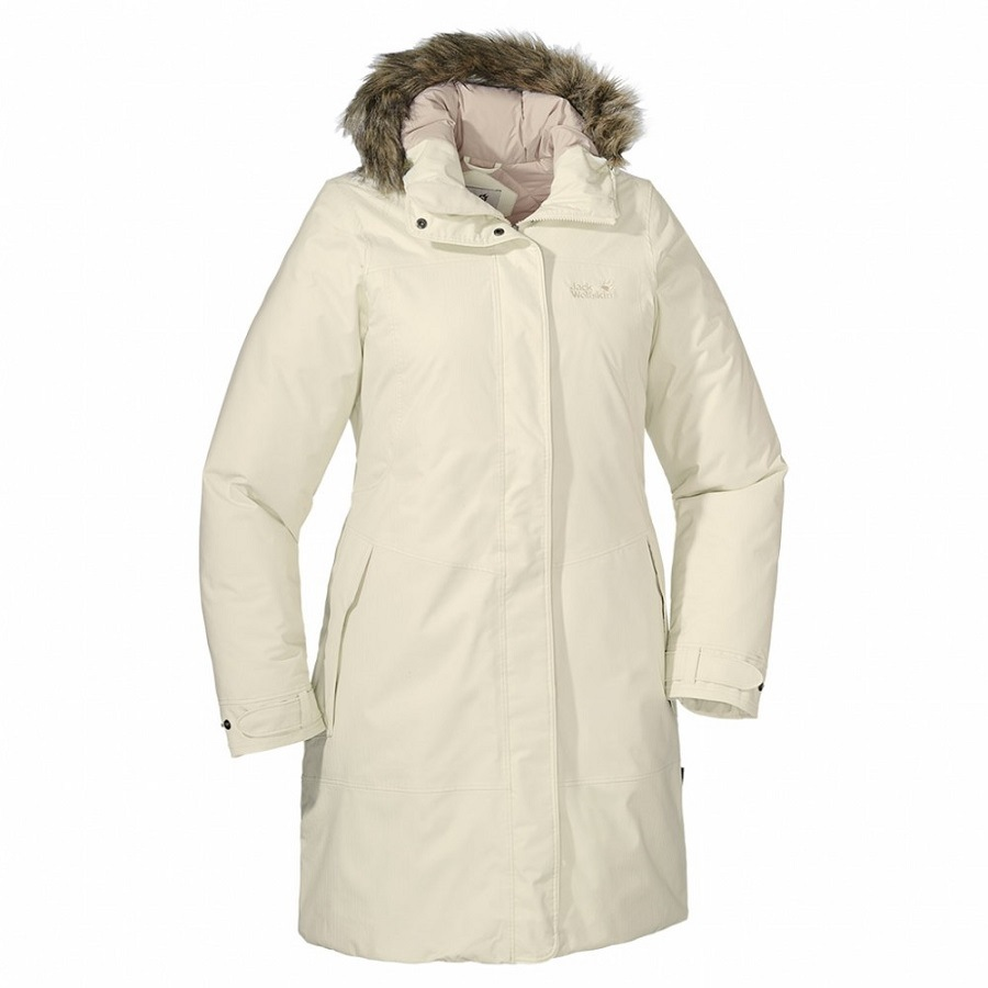 jack wolfskin parksville wintermantel winterjacke parka mantel jacke damen ebay. Black Bedroom Furniture Sets. Home Design Ideas