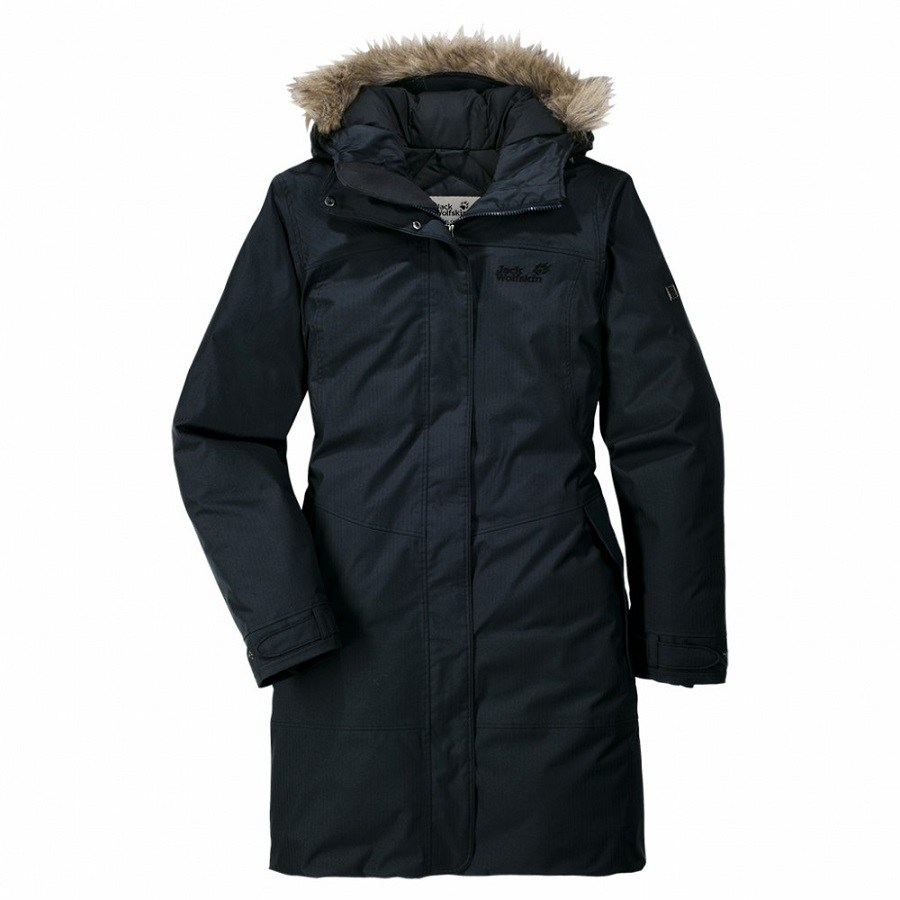 jack wolfskin parksville wintermantel winterjacke parka. Black Bedroom Furniture Sets. Home Design Ideas