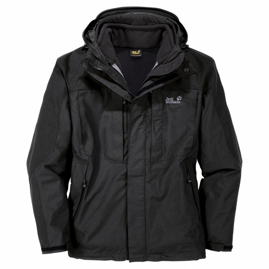 jack wolfskin ben nevis wanderjacke winterjacke 3 in 1. Black Bedroom Furniture Sets. Home Design Ideas