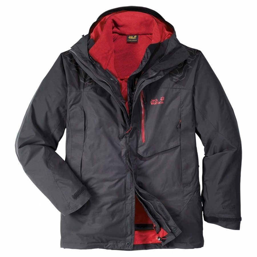 jack wolfskin trek 39 n ice winterjacke wanderjacke. Black Bedroom Furniture Sets. Home Design Ideas