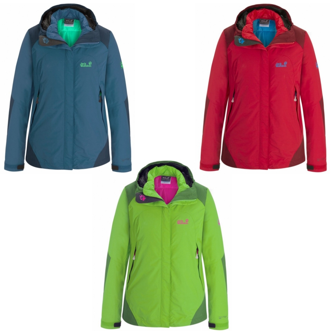 Outdoor jacken damen jack wolfskin