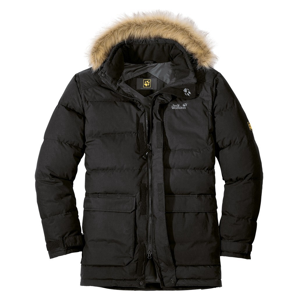 jack wolfskin lakota parka herren daunenjacke jacke. Black Bedroom Furniture Sets. Home Design Ideas