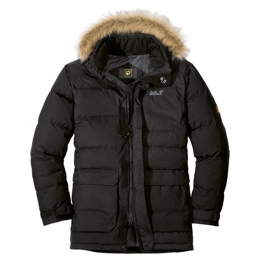 jack wolfskin lakota parka winterjacke mantel winter jacke. Black Bedroom Furniture Sets. Home Design Ideas