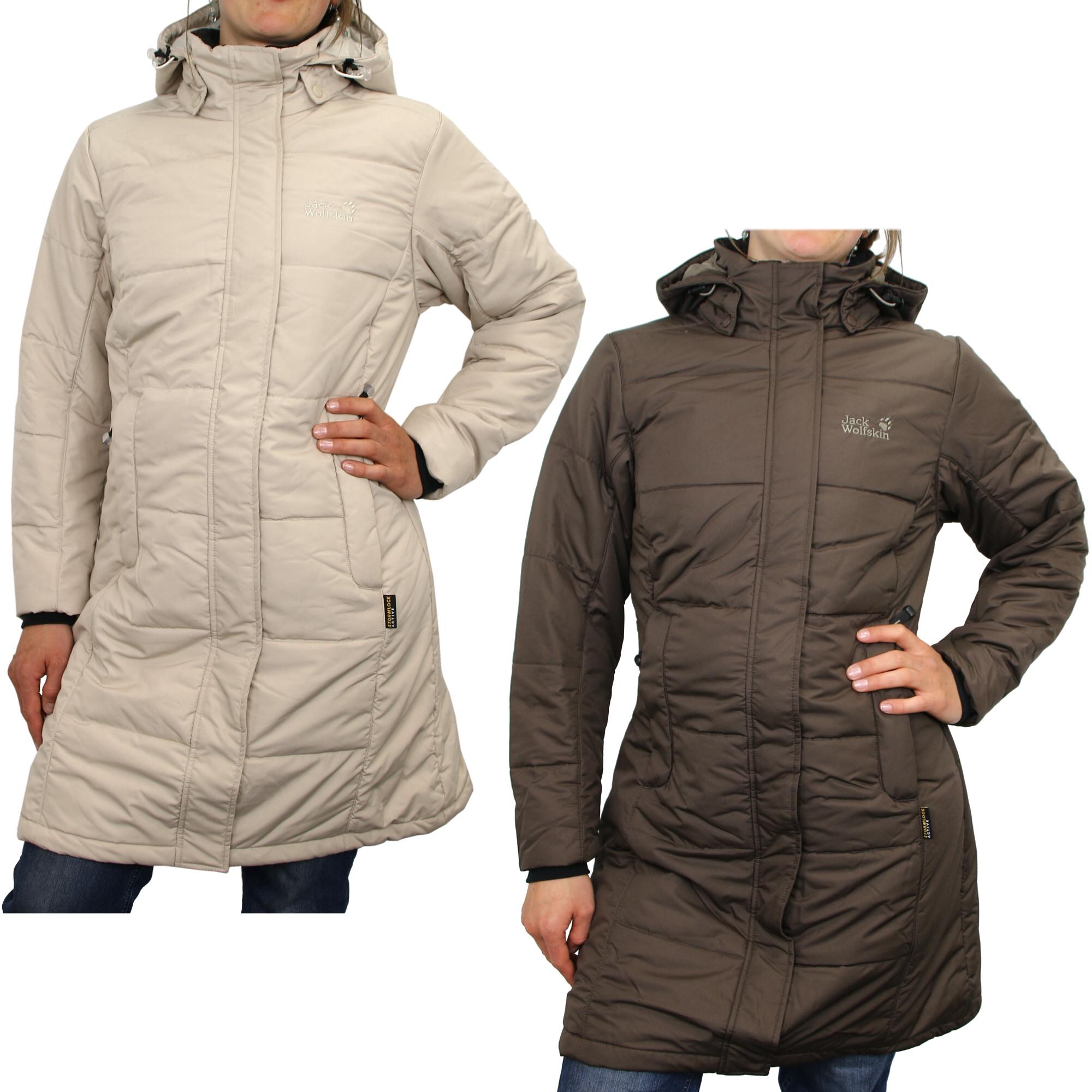 jack wolfskin damen winterjacke iceguard coat modische. Black Bedroom Furniture Sets. Home Design Ideas