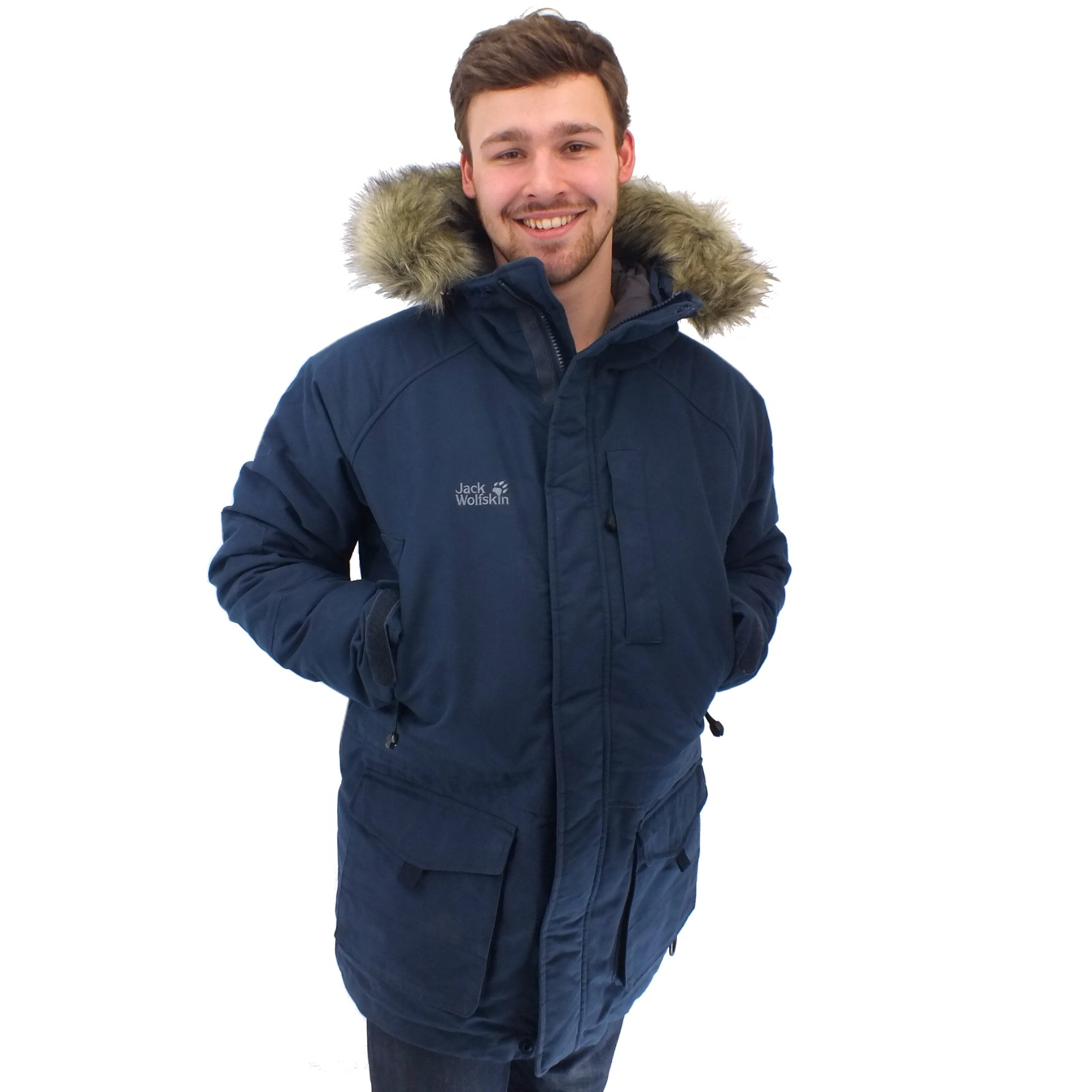 jack wolfskin arctic bay parka jacke winterjacke. Black Bedroom Furniture Sets. Home Design Ideas