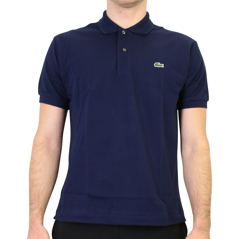 Lacoste original polo shirt men iconic cotton petit piqu uk - Lacoste poloshirt weiay ...