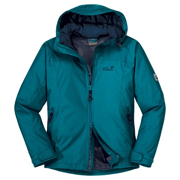 Jack Wolfskin Vortex Jacket Woman Blue