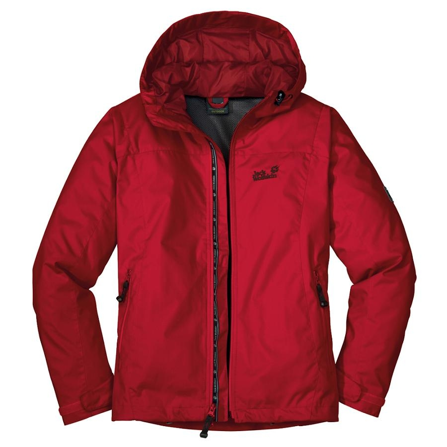 Jack Wolfskin Vortex Jacket Woman Red