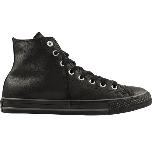 converse ct leather hi leder schuhe schwarz 42 5 us 9 ebay. Black Bedroom Furniture Sets. Home Design Ideas