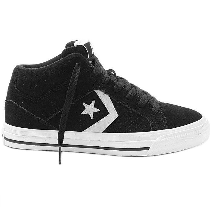 Converse Gates Mid Suede Black