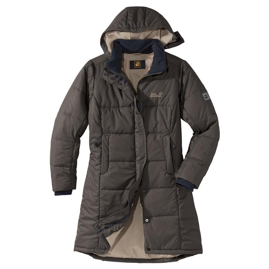 jack wolfskin iceguard coat women granite damen mantel. Black Bedroom Furniture Sets. Home Design Ideas