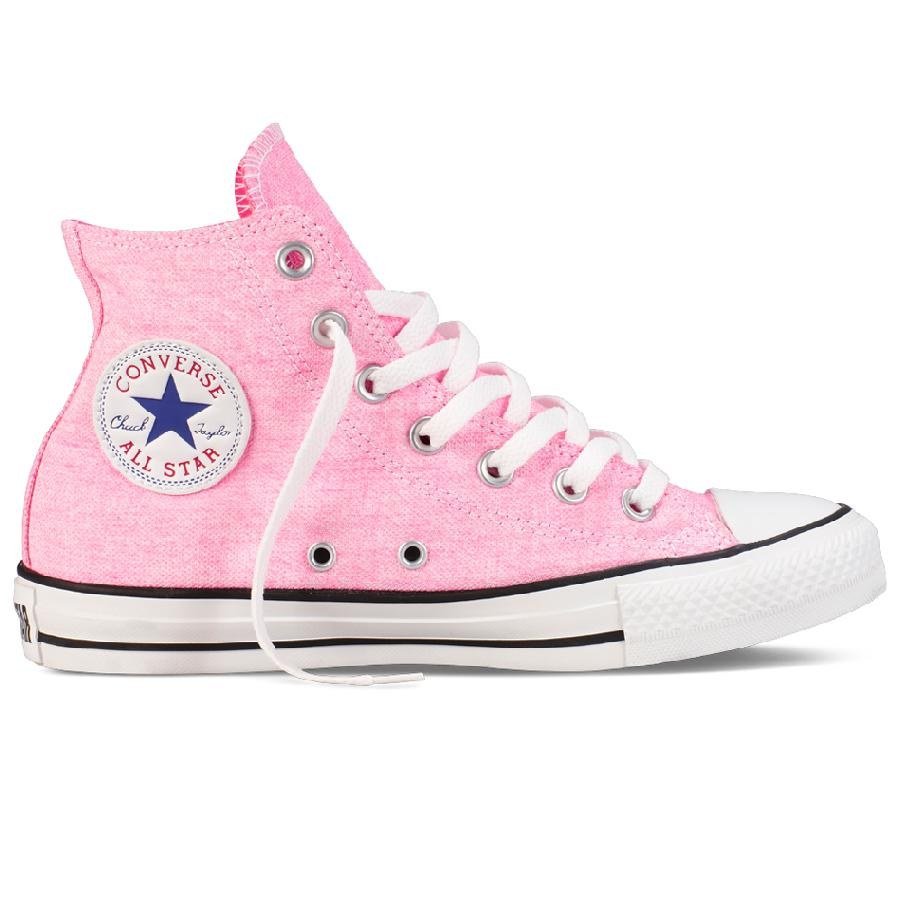 converse chuck taylor as hi schuhe sneaker high top damen blau gelb pink neon. Black Bedroom Furniture Sets. Home Design Ideas