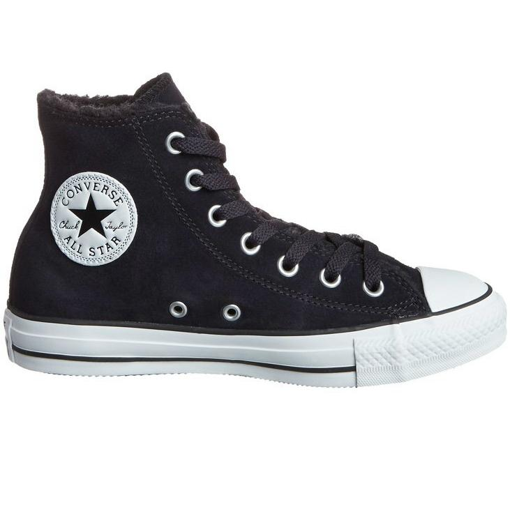 converse chuck taylor as hi schuhe sneaker winterschuhe gef ttert damen herren. Black Bedroom Furniture Sets. Home Design Ideas