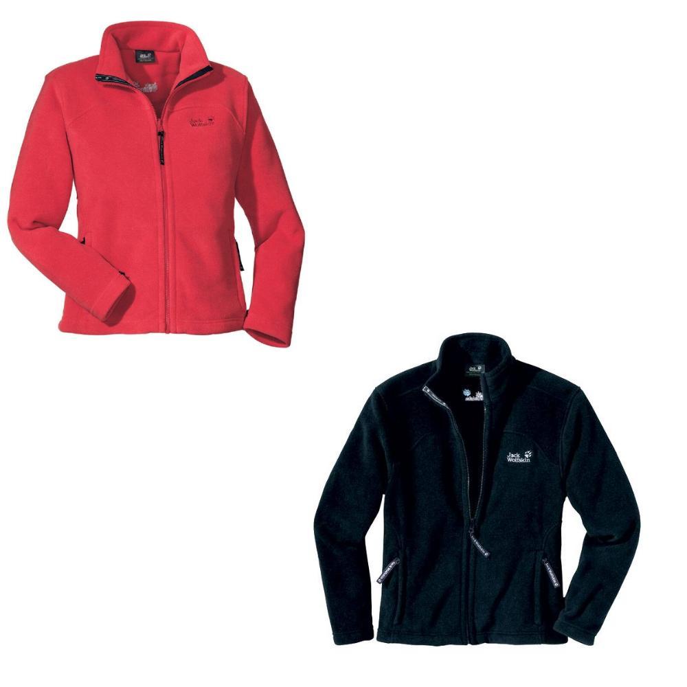 jack wolfskin vertigo jacket w jacke fleece damen schwarz. Black Bedroom Furniture Sets. Home Design Ideas