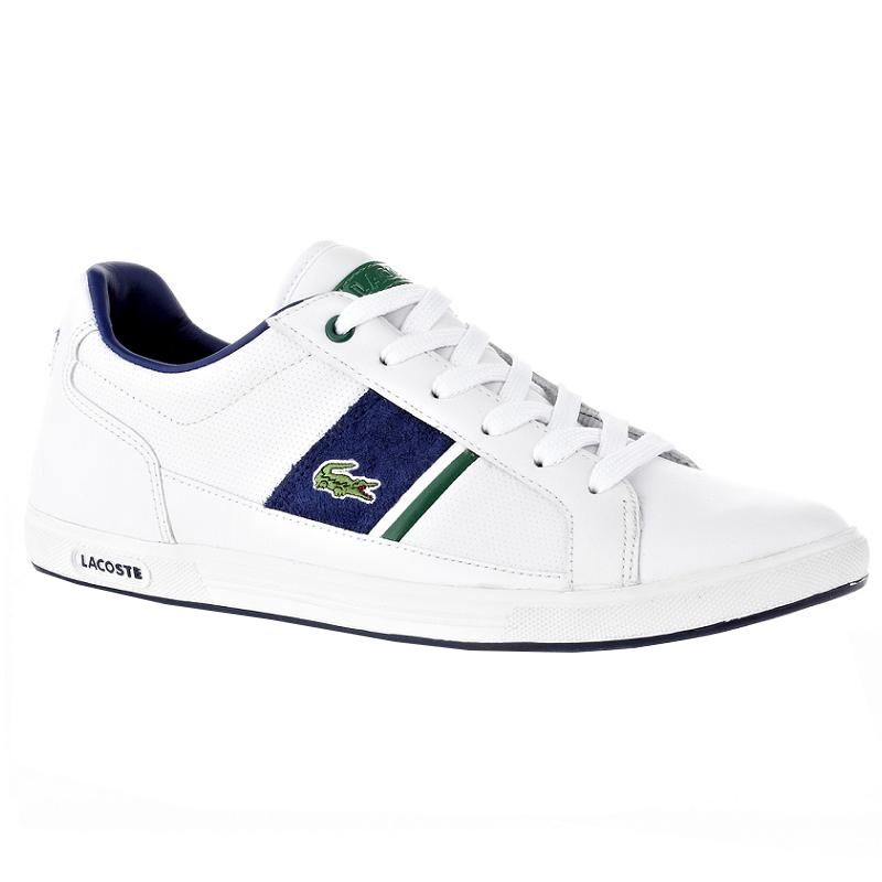 lacoste europa ls spm herren schuhe 42 uk 8 wei ebay. Black Bedroom Furniture Sets. Home Design Ideas