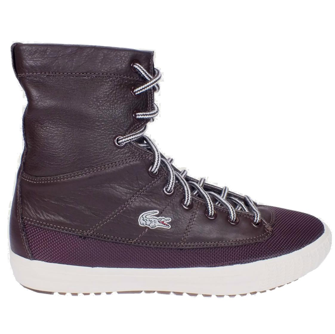 lacoste avignon lb schuhe stiefel high top sneakers herren braun winter ebay. Black Bedroom Furniture Sets. Home Design Ideas