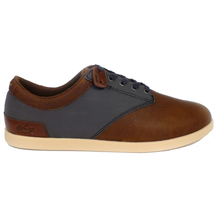 lacoste gilford 5 schuhe sneaker herren leder braun ebay. Black Bedroom Furniture Sets. Home Design Ideas