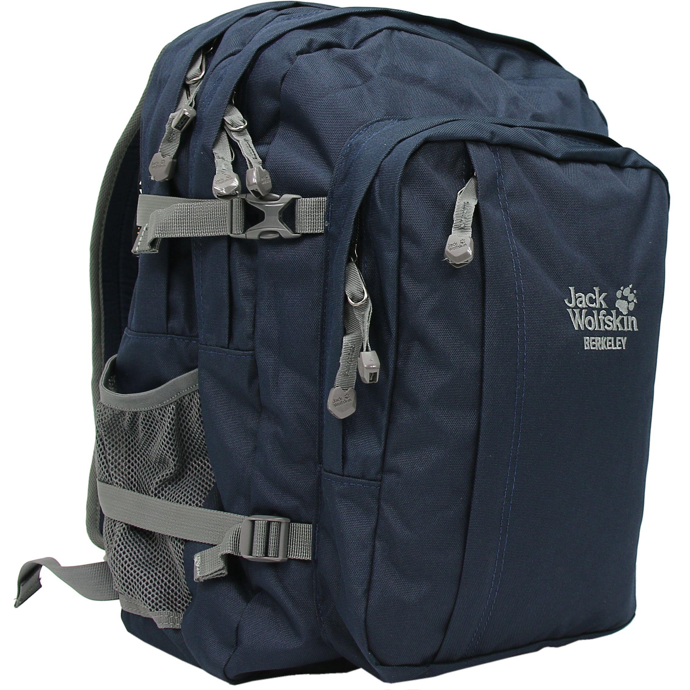 Jack-Wolfskin-Berkeley-Rucksack-Daypack-Tasche-Outdoor-Sport-Diverse-Farben