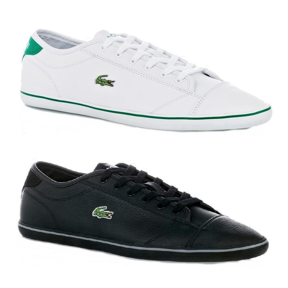 trainers lacoste wyken cre shoes sneaker loafers men 039 s white black. Black Bedroom Furniture Sets. Home Design Ideas