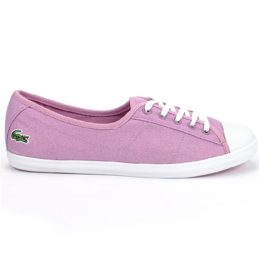 lacoste ziane sum schuhe sneaker damen blau schwarz rosa ebay. Black Bedroom Furniture Sets. Home Design Ideas