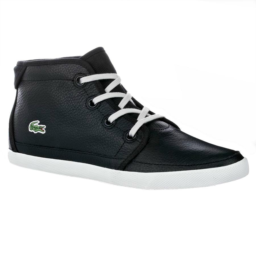 lacoste sneaker schwarz damen restaurant baltic. Black Bedroom Furniture Sets. Home Design Ideas