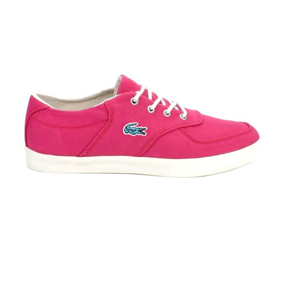 lacoste glendon 3 schuhe turnschuhe sneaker damen pink. Black Bedroom Furniture Sets. Home Design Ideas