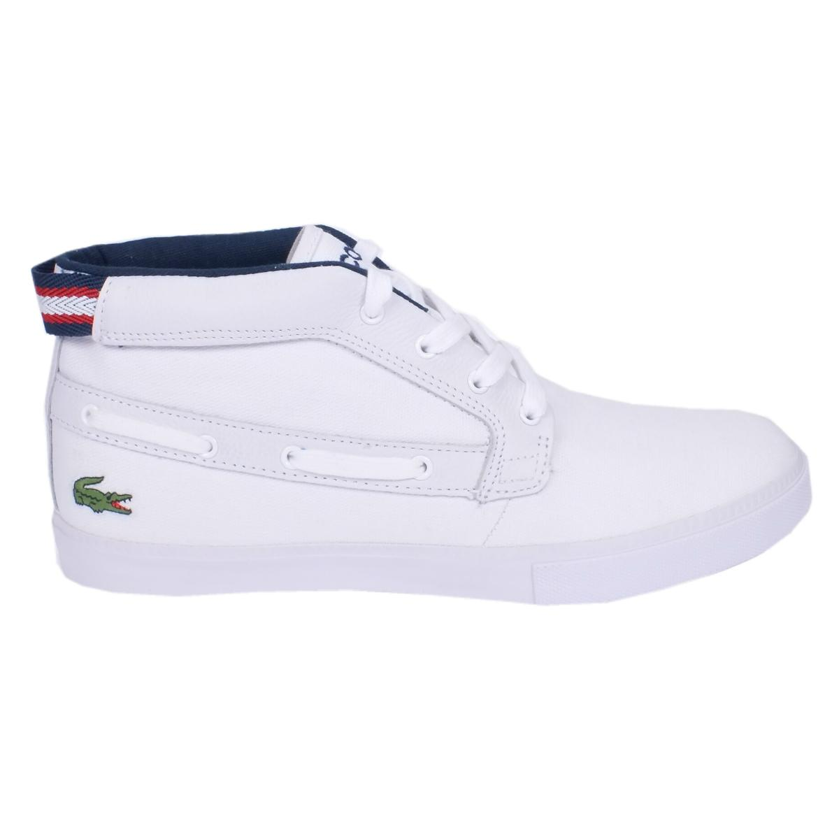 lacoste bowline usn schuhe turnschuhe sneaker high top. Black Bedroom Furniture Sets. Home Design Ideas
