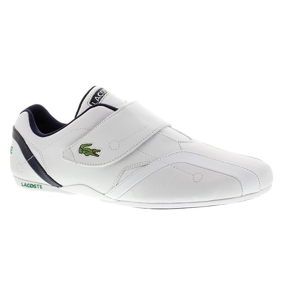 lacoste protect crt schuhe turnschuhe sneaker echtleder herren wei. Black Bedroom Furniture Sets. Home Design Ideas