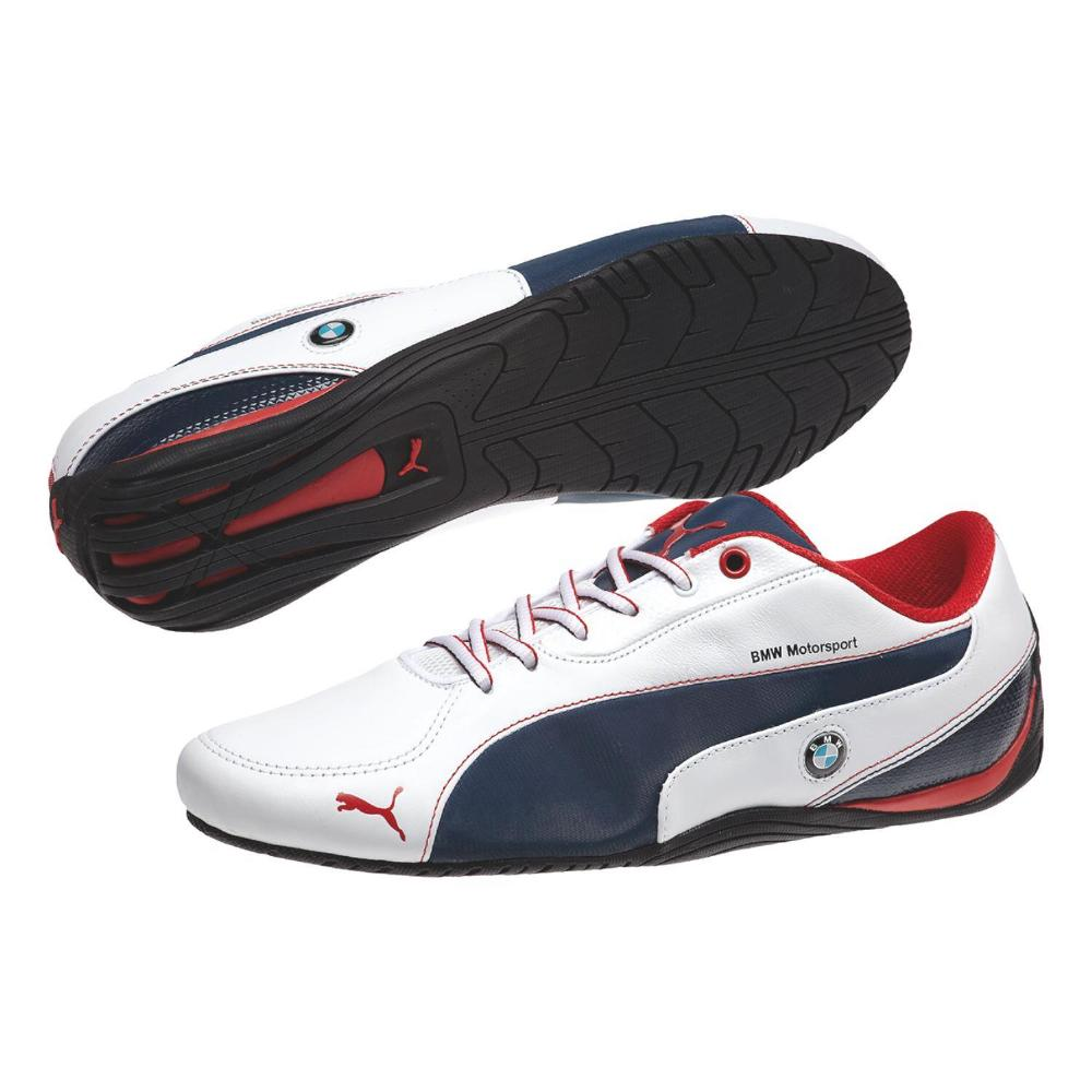 puma drift cat 5 bmw schuhe sneaker herren blau wei ebay. Black Bedroom Furniture Sets. Home Design Ideas