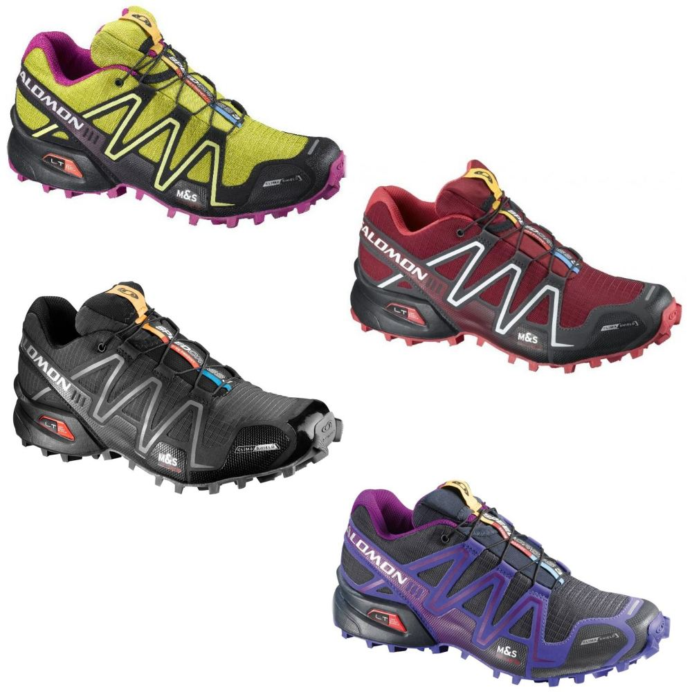 salomon speedcross 3 cs schuhe laufschuhe trekkingschuhe damen climashield ebay. Black Bedroom Furniture Sets. Home Design Ideas