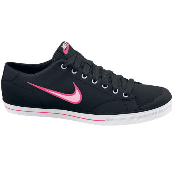 nike wmns capri si damen schuhe leder schwarz pink 40 5 ebay. Black Bedroom Furniture Sets. Home Design Ideas