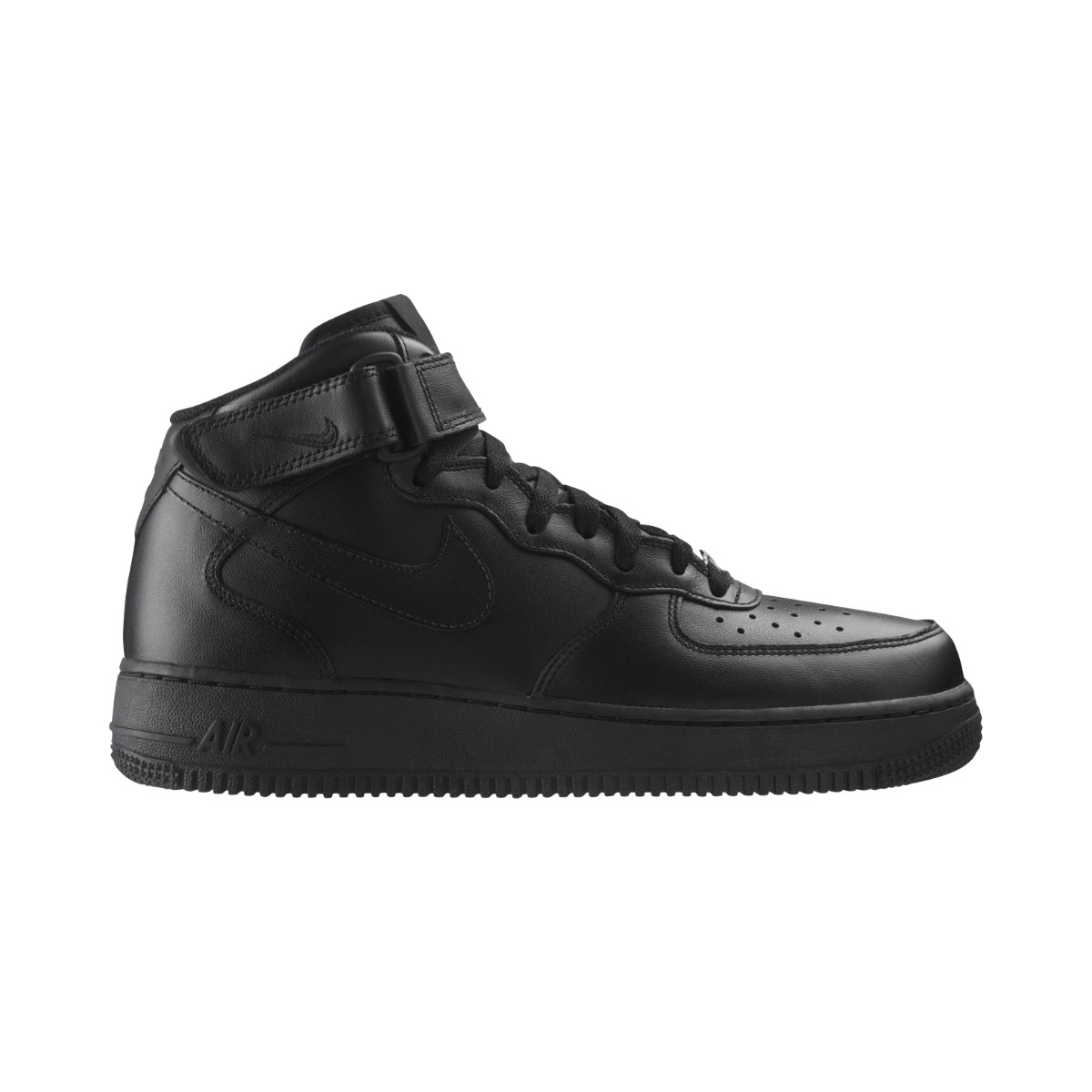 Air Force 1 Mid Schwarz