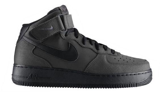 Nike Air Force 1 Grau Schwarz