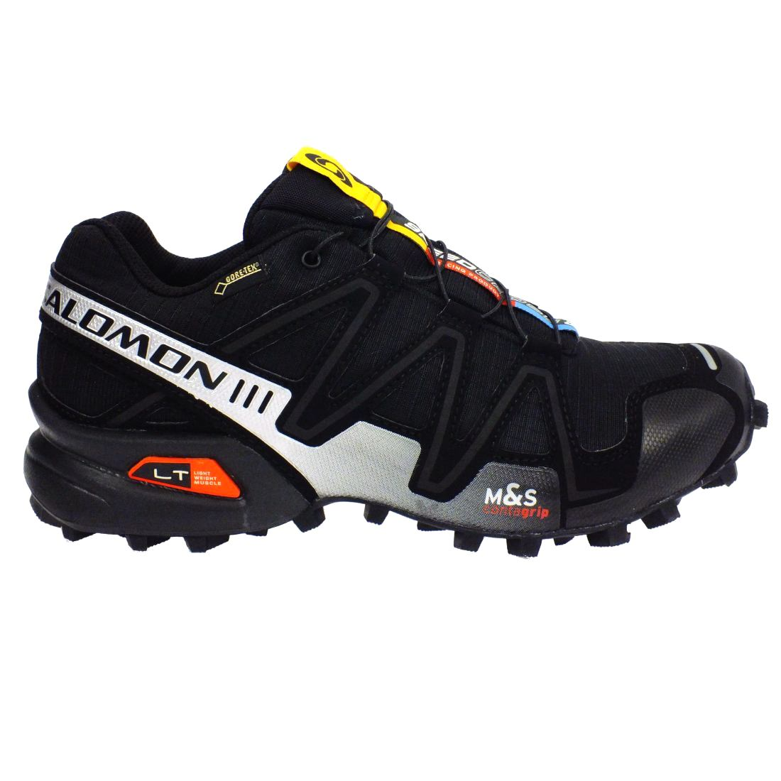 salomon speedcross 3 gtx men 39 s running trail running outdoor gore tex shoes ebay. Black Bedroom Furniture Sets. Home Design Ideas