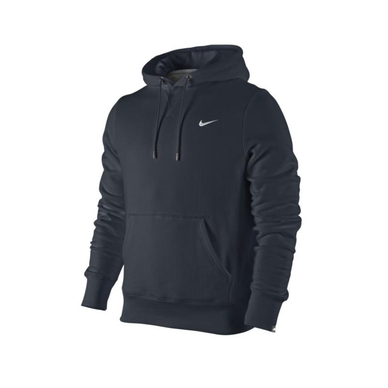 nike squad fleece po hoody herren sweatshirt pullover blau. Black Bedroom Furniture Sets. Home Design Ideas