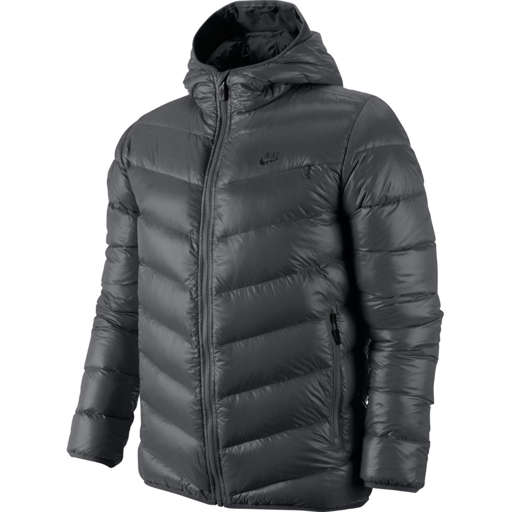 nike cascade 700 hooded down jacket winterjacke herren. Black Bedroom Furniture Sets. Home Design Ideas